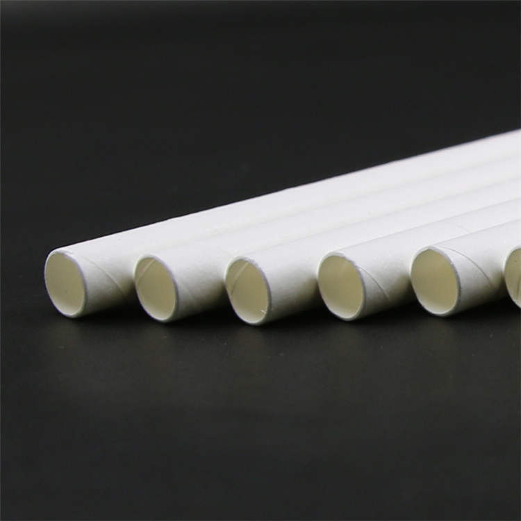 Food Grade Wrapper Biodegradable Cocktail Drinking Paper Straw