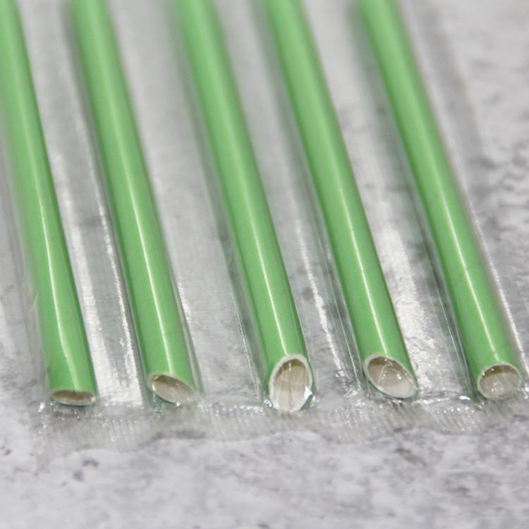paper straws at restaurants