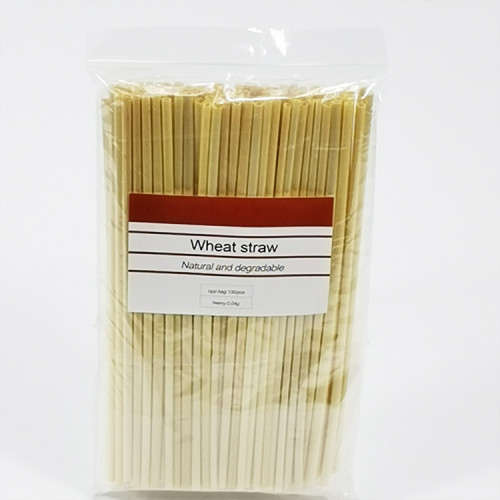 2019ベストセラー堆肥化可能環境に優しい天然の使い捨て小麦straw straw