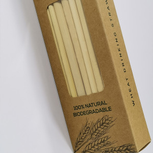 Biodegradable plant reed drinking straw healthy natural