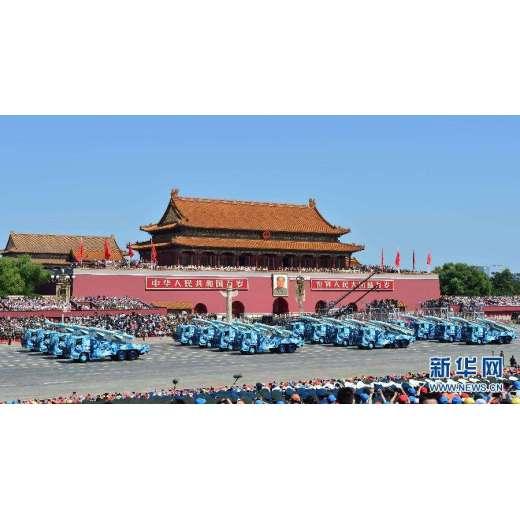 Looking at China from the military parade