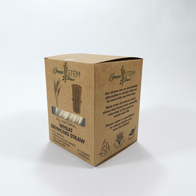 Spuntree Boxed wheat straw