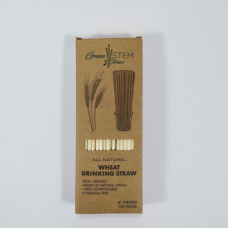 Boxed wheat straw design