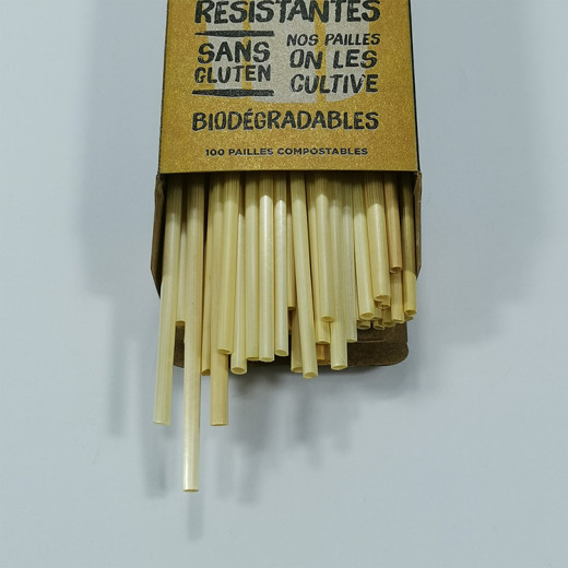 Which is the packaging design of the wheat straw?