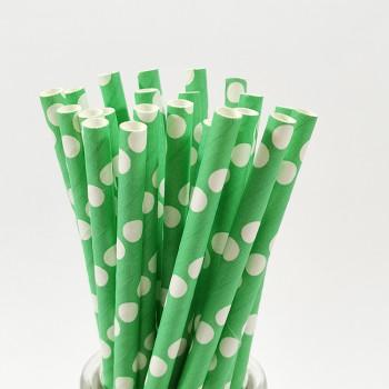 LFGB 8MM straw disposable pearl milk tea drink crude degradable color kraft green pot paper straw