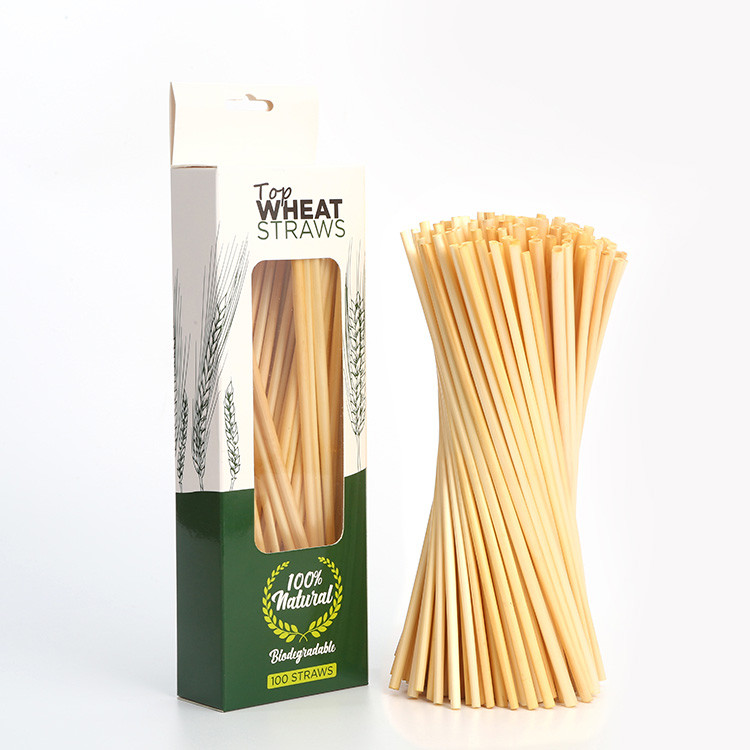eco friendly wheat straws