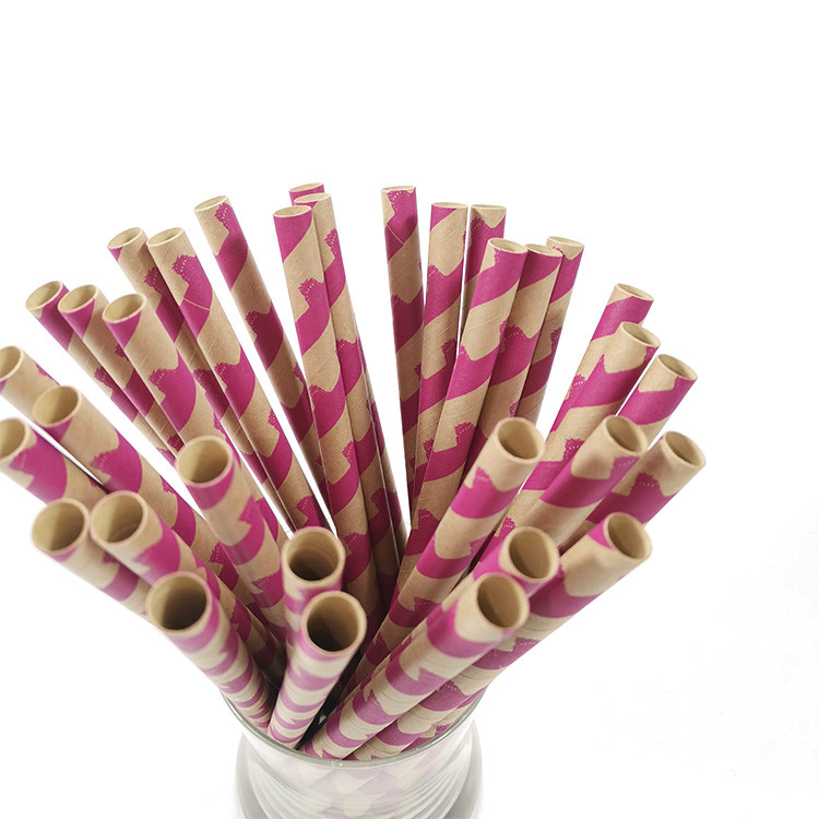 Bamboo pulp paper straws