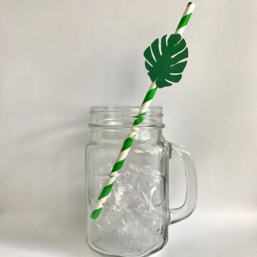 Paper straws do not burden the forest!