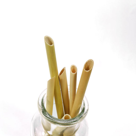 Plant drinking straws for milk tea