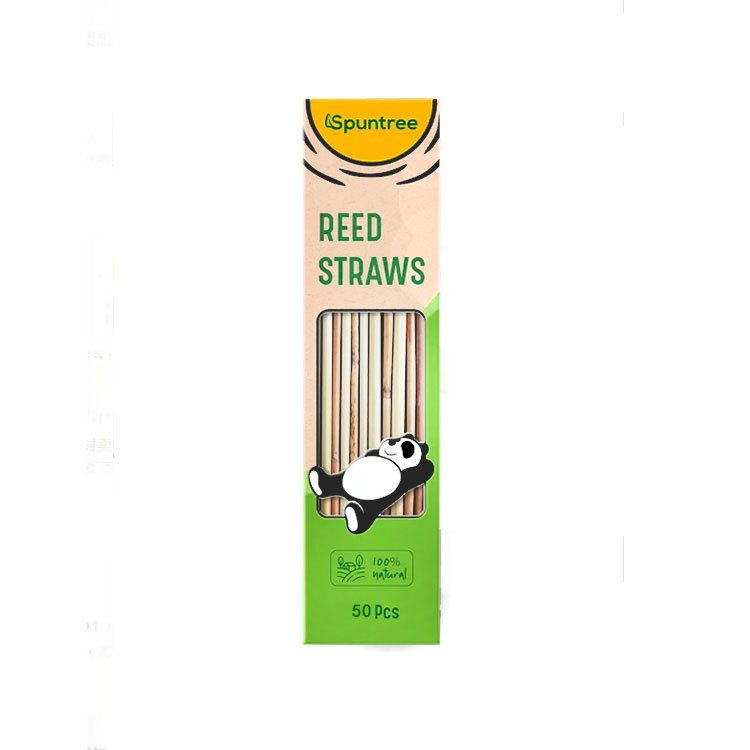 The package of Hotseller 2019 Biodegradable Compostable Grass Straw Drinking, Biodegradable Reed Straws