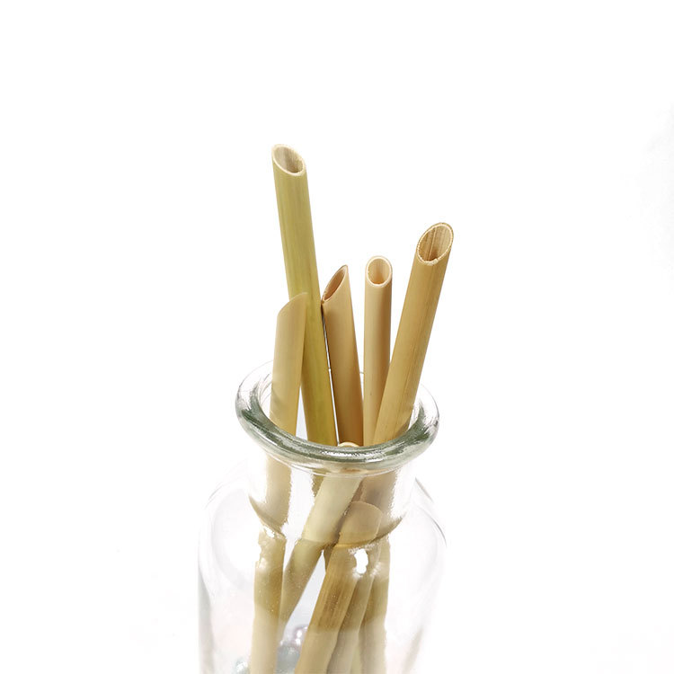 plant reed drinking straws