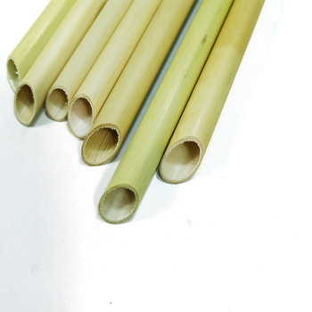 Reed rod natural plant large diameter pointed reed drinking straws