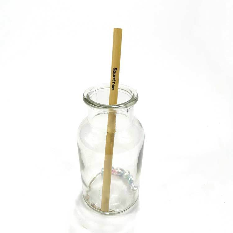 organic reed straws with logo