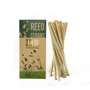 Custom Reed stem natural plant disposable reed straws factory