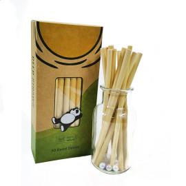 リード茎植物竹わら環境にやさしいミルクティー冷たい飲み物コーヒー使い捨て創造的な輸出