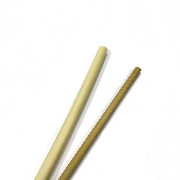 white reed straw