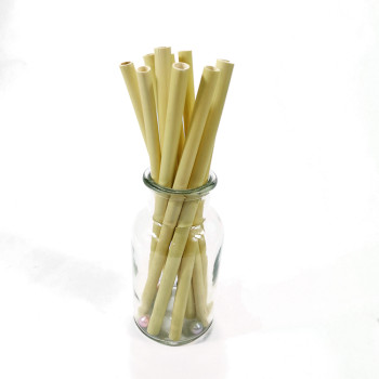 High quality natural eco friendly plant recyclable straws for bar restaurant hotel reed straws