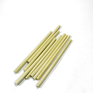 100% Biodegradable Compostable Natural Reed Drinking Straw With Logo