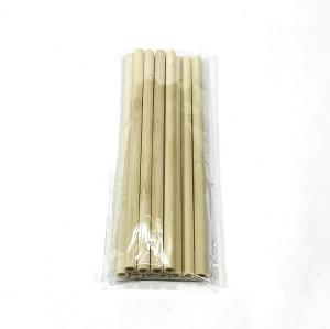 100% biodegradable eco natural drinking bamboo fiber straws custom logo