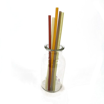 Rice straw biodegradable edible wheat straw wheat straw disposable pipette Factory Outlet Amazon