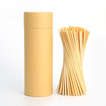 200pcs natural wheat drinking straws for hotel