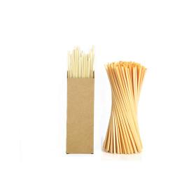 Environmental protection degradable safe long wheat straws