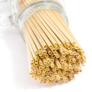 5mm natural health degradable wheat drinking straws for sale