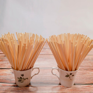 100 opp bag Pure natural  degradable ultra-fine long wheat straw