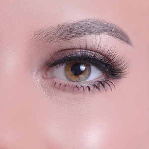 100% Handing Made Natural Long Thick Premium Synthenic Eyelashes For Makeup