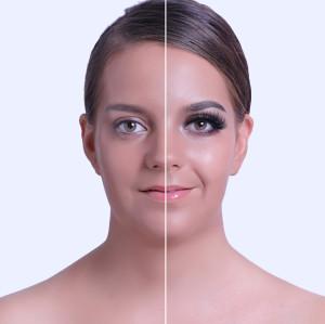 Maquillaje dramático Pestañas falsas gruesas hechas a mano premium de visón completo Paquete de 1 par