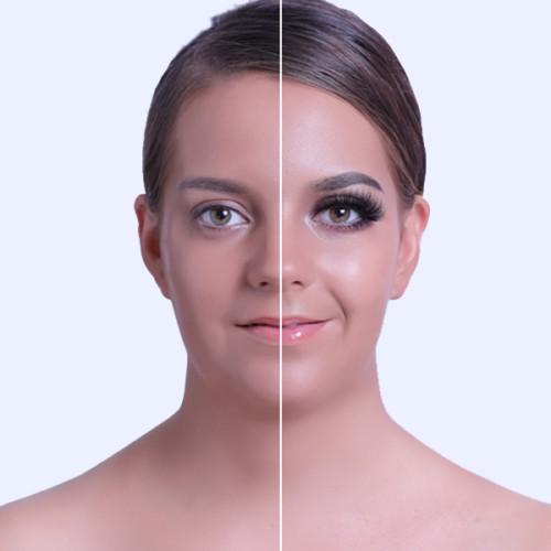 Dramatic Makeup Thick Premium Handmade Full Mink Strip Fake Eyelashes 1 Pair Package