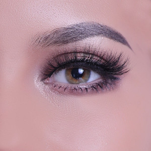 Wholesale Private Label Eyelash Packaging Box 20mm 25mm 100% real mink fluffy full strip 3d mink eyelash
