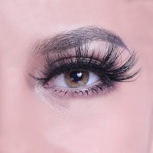 Free sample mink eyelash vendor natural looking lashes oem custom packaging box colorful eyelashes with private logo