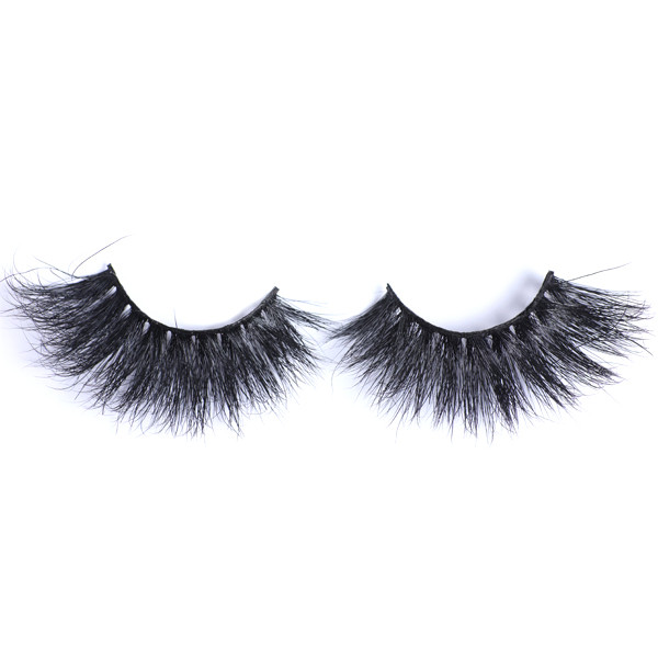Dramatic Look Handmade 100% Siberian 3D Mink Strip 25mm Eyelashes For makeup