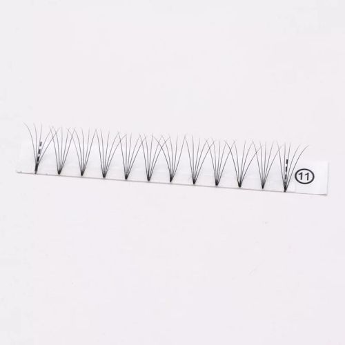 Espantapájaros Fibra sintética 3D Volumen prefabricado Ventiladores Pestañas