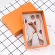 Maquillaje Ryelashes Herramientas Set con pestañas Pinzas Tijeras Rizador Pinzas de cejas