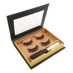 Pestañas postizas magnéticas impermeables mejoradas de alta calidad con delineador de ojos líquido magnético sin pegamento