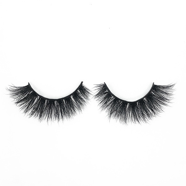 Dramatic Makeup Thick Premium Handmade Full Mink Strip Fake Eyelashes 1 Pair Package