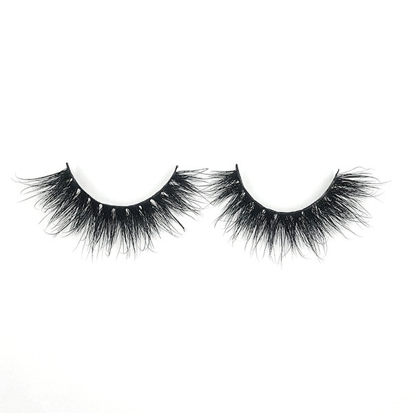 Reusable High Volume Long Fluffy 3D Mink Eyelash For Daily Makeup