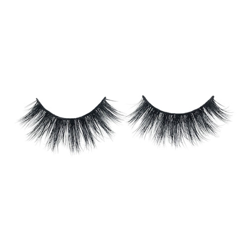 Best selling Layered Effect 3D  Mink Lashes Strip Glitter Custom Packaging For Fashion