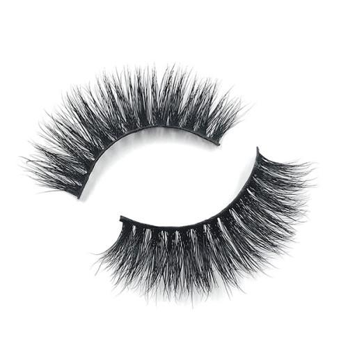 Professional 100% Cruelty-Free Lightweight Premium Quality 3D Mink False Eyelashes Mink Lashes Supplier