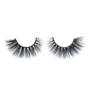 Factory Wholesale Real 3d Mink Fur Lashes Easily Apply Charming Hand Made  3d Mink Eyelashes With Eyelash Box