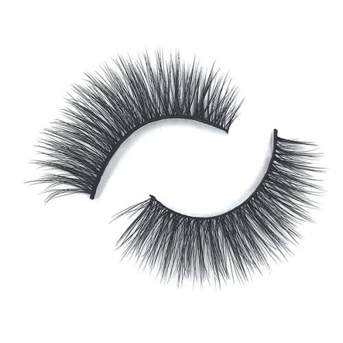 Pestañas sintéticas premium largas gruesas naturales 100% hechas a mano para maquillaje