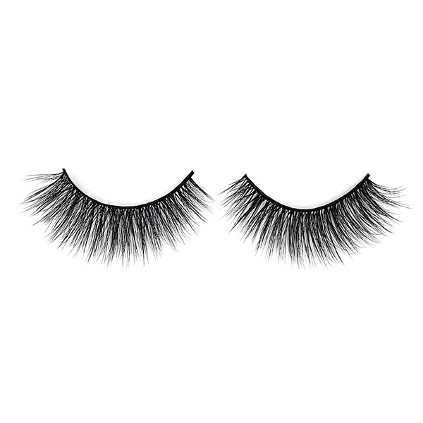 100% Handing Made Natural Long Thick Premium Synthetic Eyelashes For Makeup