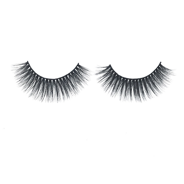 Good Quality Natural Look Fluffy Volume False Lashes For Daily Makeup