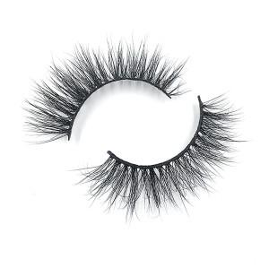 Las pestañas de visón hechas a mano más nuevas de Fulffy 2019 son baratas para el maquillaje de las mujeres
