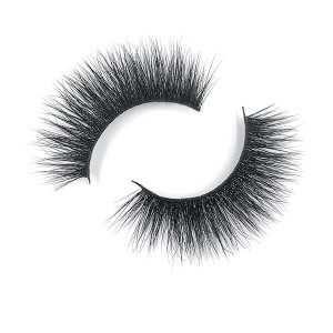 Best Manufacture Vegan Crisscross 3D Mink Lashes Prices With Private Logo