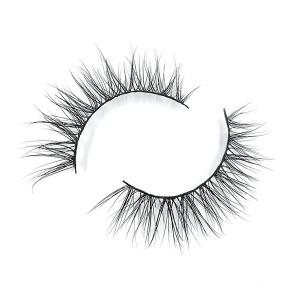 China Lashes Manufacturer Best Mink 3D Eyelashes With Free Eyelashes Tweezer