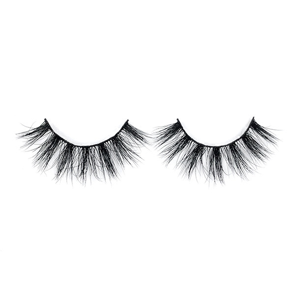 Private Label Beautiful Girl Cotton Band 5D Mink Eyelashes For Party