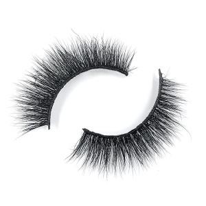 Natural Look Classic Decorative Eyelashes Package Box With Eyelash Tweezer